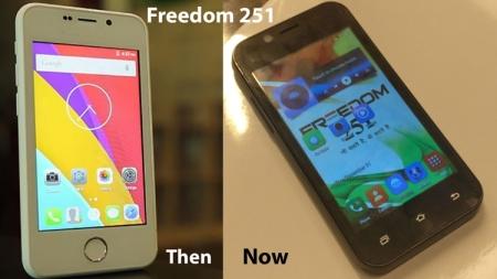 Начались поставки смартфона Freedom 251 стоимостью $4