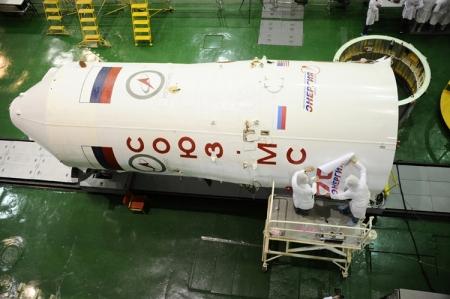 Стыковка первого пилотируемого корабля «Союз МС» с МКС намечена на 9 июля