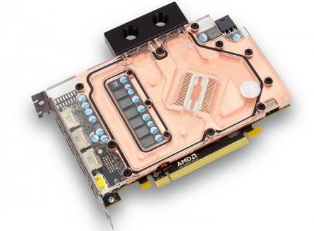 EKWB анонсировала серию водоблоков для Radeon RX 480