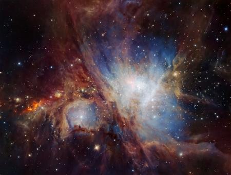 Получены самые качественные снимки Туманности Ориона