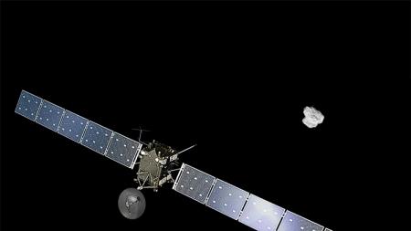 Миссия Rosetta завершится 30 сентября столкновением аппарата с кометой