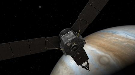 Космический аппарат «Юнона» выходит на орбиту Юпитера