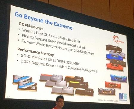 G.Skill готовит ёмкие комплекты памяти Trident Z DDR4 с низкими задержками