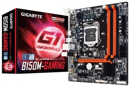 Материнская плата Gigabyte GA-B150M-Gaming: встреча M.2 и PS/2