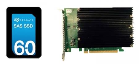 Seagate показала 60-Тбайт накопитель и PCI-E SSD с производительностью 10 Гбайт/с