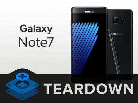 Фаблет Samsung Galaxy Note 7 попал под «скальпель» iFixit