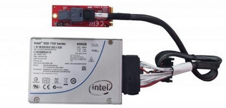 Контроллер HighPoint RocketRAID 3840A предназначен для подключения накопителей U.2