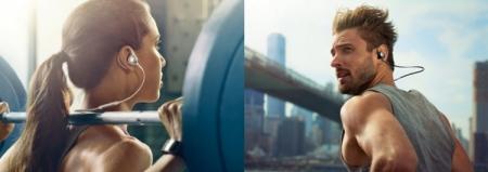 Гарнитура Samsung Level Active рассчитана на спортсменов и активных пользователей