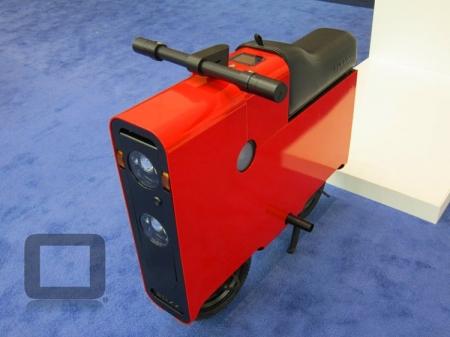 Электроскутер BOXX, похожий на чемодан, стоит от $3000