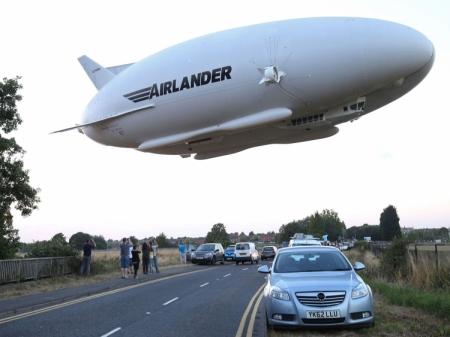 Второй полёт дирижабля Airlander 10 ознаменовался жёсткой посадкой и повреждениями