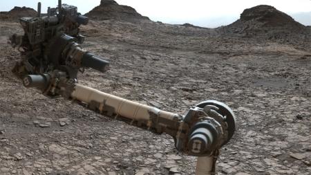 Фото дня: круговая панорама холмов Мюррея на Марсе
