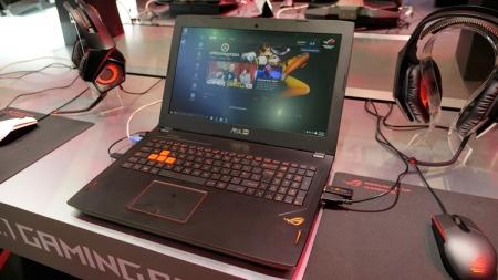 ASUS ROG Strix GL702: игровой ноутбук с 17,3-дюймовым дисплеем