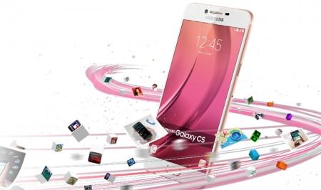 Samsung готовит смартфон Galaxy C9 с большим дисплеем