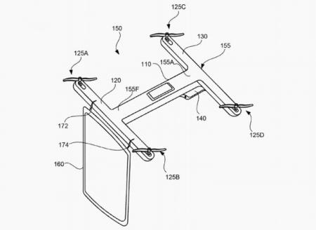 Google запатентовала офисный дрон