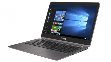 Дисплей ультрабука ASUS ZenBook Flip UX360UA вращается на 360 градусов