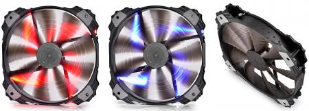 Новые вентиляторы Deepcool, be quiet! и Fractal Design и уникальная система крепления из Японии