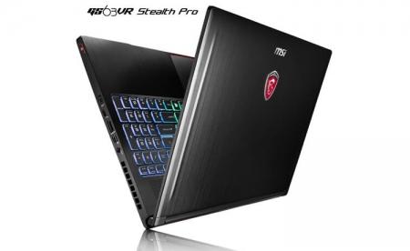 MSI называет GS63VR Stealth Pro самым тонким в мире игровым 15,6″ ноутбуком