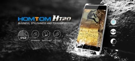 HomTom разрабатывает смартфонHT20 в защищённом металлическом корпусе