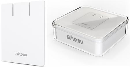 Переносной SSD BIWIN P10 имеет толщину всего 2,2 мм