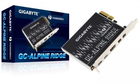Gigabyte GC-Alpine Ridge: карта расширения с поддержкой Thunderbolt 3