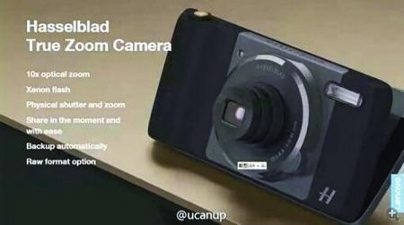 Moto Z получит аксессуар-камеру с 10-кратным зумом от Hasselblad