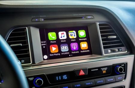 Hyundai расширяет использование систем Apple Carplay и Android Auto