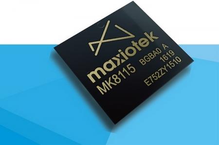Maxiotek официально представила недорогой контроллер MK8115 с поддержкой 3D NAND