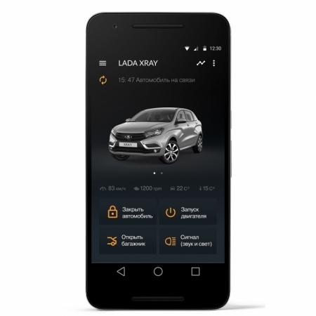 LADA Connect позволит управлять автомобилем при помощи смартфона