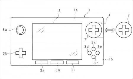 Nintendo придумала игровой контроллер с модульной конструкцией