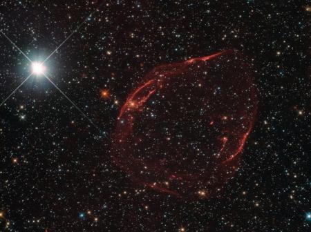 Фото дня: звёздная «шрапнель»