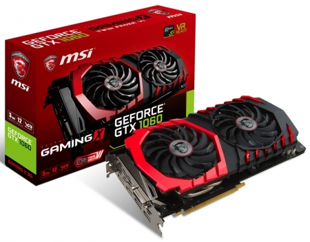 MSI представила пять видеокарт GeForce GTX 1060 3GB и готовит юбилейную версию GTX 1080