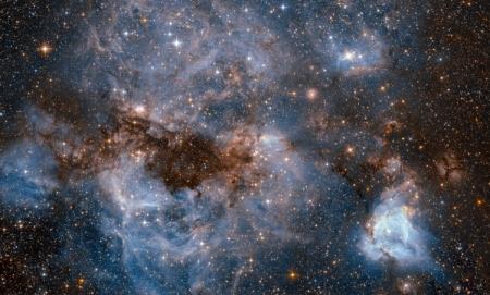 Фото дня: космический ураган в «звёздной колыбели»