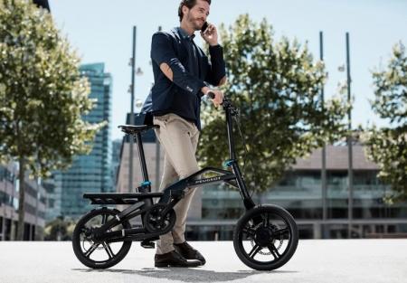 Peugeot eF01: складной электровелосипед для преодоления «последней мили»