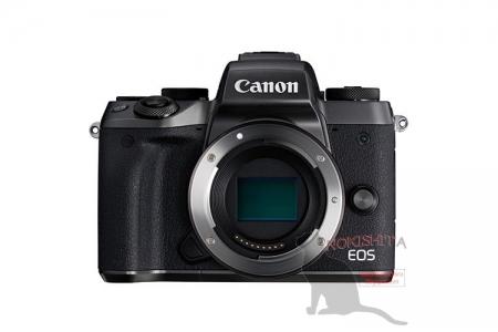 Обнародованы изображения и данные о характеристиках камеры Canon EOS M5