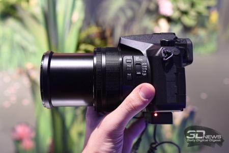 Panasonic Lumix FZ2500: карманный 20х зум с 4K Cinema