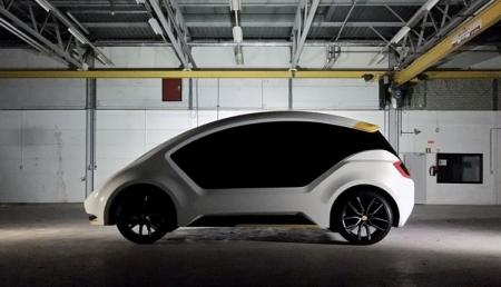 Amber One: компактный электромобиль для каршеринга