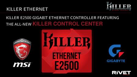 Rivet Networks анонсировала новое поколение сетевых контроллеров Killer