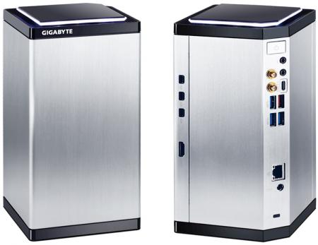 GIGABYTE выпустила новые модели игровых систем BRIX Gaming
