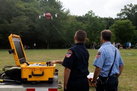 Нью-йоркский пожарный департамент начнёт использовать дроны