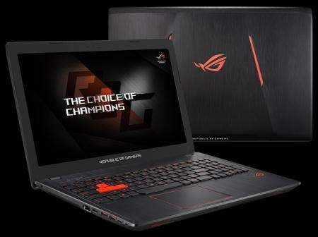 ASUS анонсировала игровой ноутбук ROG Strix GL553VW