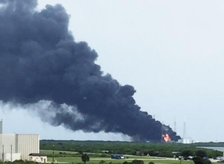 Пожар не помешает планам SpaceX по запуску «космического такси»