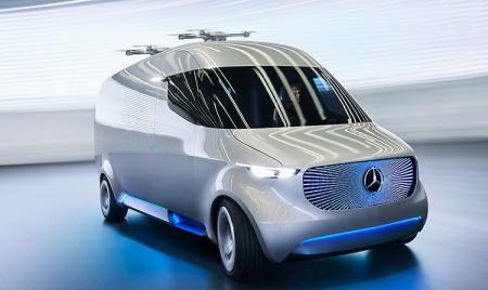 Mercedes-Benz Vision Van: будущее доставки товаров