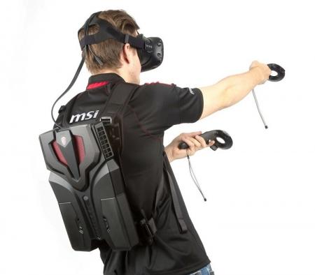 MSI покажет на выставке в Токио компьютер-рюкзак VR One