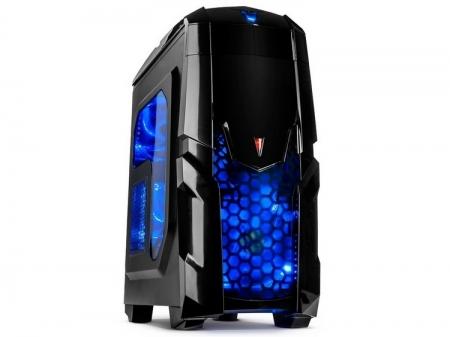 Inter-Tech Q2 Illuminator Blue: корпус для любителей синей подсветки
