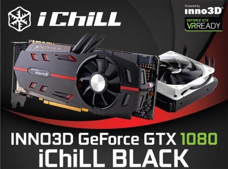 Ускоритель Inno3D GeForce GTX 1080 iChill Black получил внушительный разгон