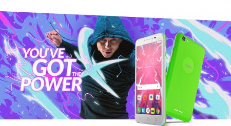 Alcatel Pixi 4 Plus Power: смартфон с батареей 5000 мАч