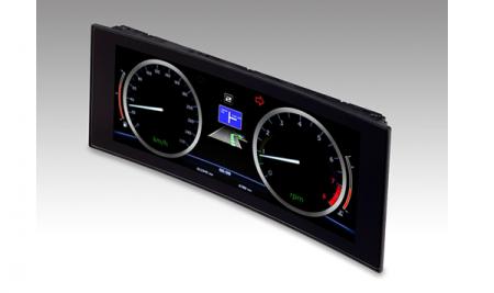 JDI разработала 12,3″ изогнутый дисплей для приборной панели