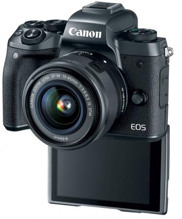 Canon анонсировала флагманскую беззеркальную камеру EOS M5