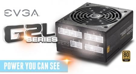 EVGA выпустила блоки питания SuperNOVA 750/850 G2L с подсветкой разъёмов