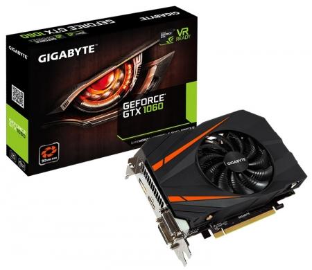 Gigabyte GeForce GTX 1060 Mini ITX 3G/6G: видеокарты для компактных корпусов